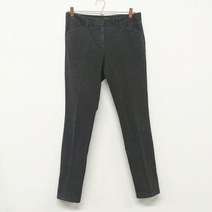 Theory Medium Gray Slim Leg Dantey Pants Size 10